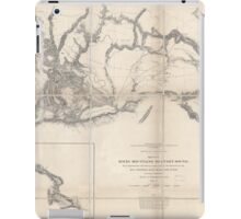 0075 Railroad Maps Rocky Mountains to Puget Sound from explorations and iPad Case/Skin