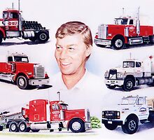 A Man and His Trucks by Margaret Harris