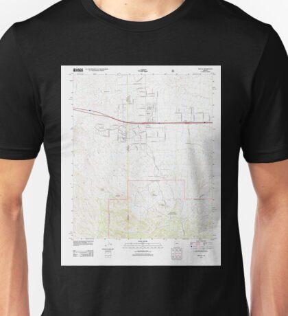 USGS TOPO Map Arizona AZ Mescal 20120517 TM Unisex T-Shirt