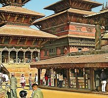 Bhaktapur Summer Palace by V1mage