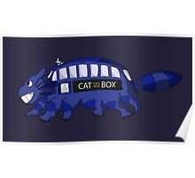 Cat Box Poster