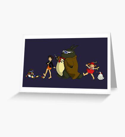 Doctor Totoro Greeting Card