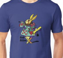 Ask Alice - The White Rabbit 2 - Alices Adventures in Wonderland Unisex T-Shirt
