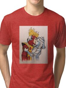 fire and ice  Tri-blend T-Shirt