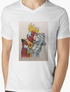 fire and ice  Mens V-Neck T-Shirt