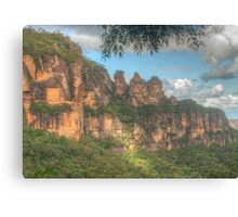 The Three Sisters ... with leaves Canvas Print