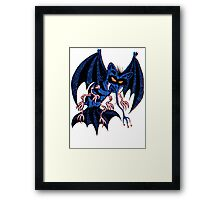 Space Bat Framed Print