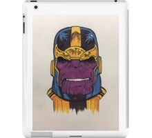 thanos the first iPad Case/Skin
