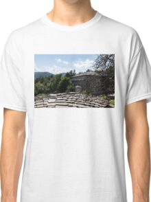 Of Slate Roofs and Gnarled Apple Trees Classic T-Shirt