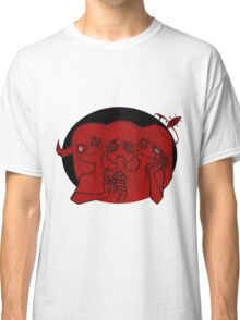 two sides Classic T-Shirt