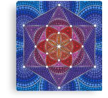 Genesis Pattern Canvas Print