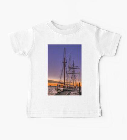 Tall Ship Mystic Baby Tee