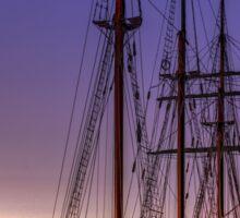 Tall Ship Mystic Sticker