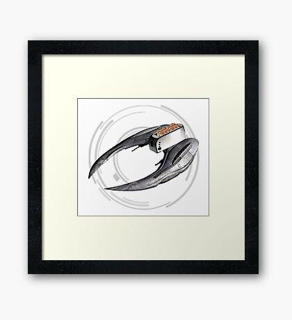 Cylon Toaster Framed Print