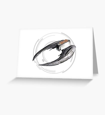Cylon Toaster Greeting Card