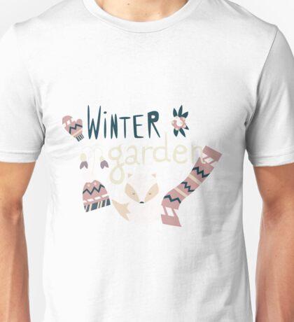 Winter garden pattern 004 Unisex T-Shirt