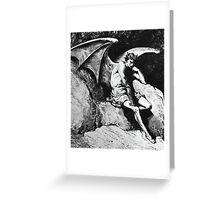 Lucifer Greeting Card