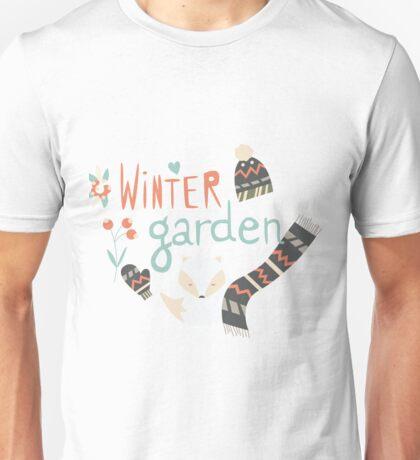 Winter garden pattern 003 Unisex T-Shirt