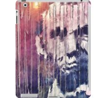 President Abraham Lincoln Abstract iPad Case/Skin