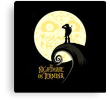 nightmare on termina Canvas Print