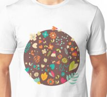 Flower pattern 03 Unisex T-Shirt