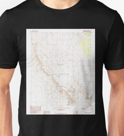 USGS TOPO Map Arizona AZ Newberry Mesa 312625 1986 24000 Unisex T-Shirt