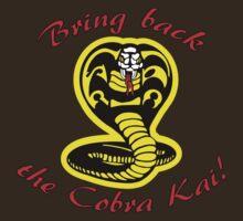 Bring Back the Cobra Kai! by JRLunaArt