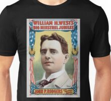 Performing Arts Posters William H Wests Big Minstrel Jubilee 1765 Unisex T-Shirt