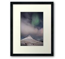 Green Patch Framed Print