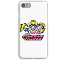 power up girl iPhone Case/Skin