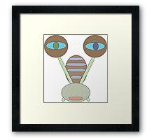 snail tale Framed Print