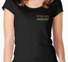True Blood - Bon Temps ~ Louisiana  Women's Fitted Scoop T-Shirt