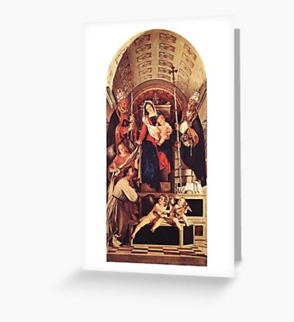 RELIGIOUS ICONOGRAPHY Greeting Card