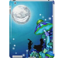 Alice in Wonderland and White Rabbit iPad Case/Skin
