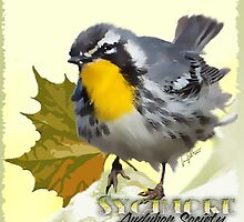 Sycamore Audubon Society:  Chapter logo by lesbooth