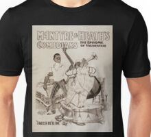 Performing Arts Posters McIntyre Heaths Comedians the epitome of vaudeville 0213 Unisex T-Shirt