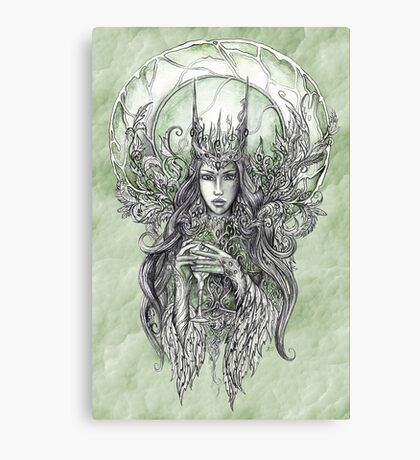 Forest Queen Canvas Print