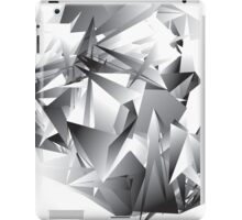 Gray Geometric iPad Case/Skin