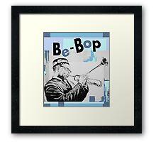 Dizz Be-Bop Framed Print