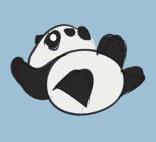 Tumbling Panda Bear Kids Clothes