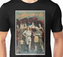 Performing Arts Posters Fred R Hamlins musical extravaganza The wizard of Oz 1400 Unisex T-Shirt