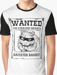 Hamster Bandit Graphic T-Shirt