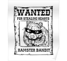 Hamster Bandit Poster