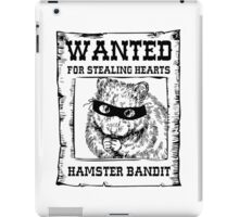 Hamster Bandit iPad Case/Skin