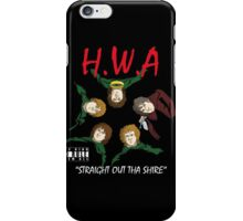 Straight Out Tha Shire iPhone Case/Skin