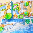 garden by the sea by terezadelpilar ~ art & architecture