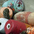 Vintage Buoys  by clizzio