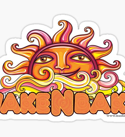 Wake & Bake  Sticker