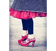 the ruby shoes Photographic Print