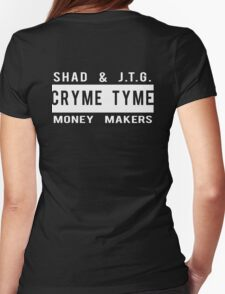 Cryme Tyme! | Shad & J.T.G. Womens Fitted T-Shirt